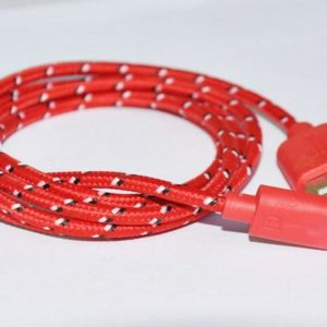 nylon braided rugged bungee cord cable charger bulk lot wholesale