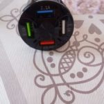 7A 4 USB Port Fast Car Charger QC3.0 photo review