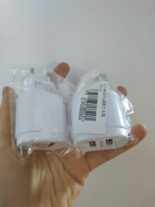 5V 2.4A Dual Port USB Fast Wall Charger photo review