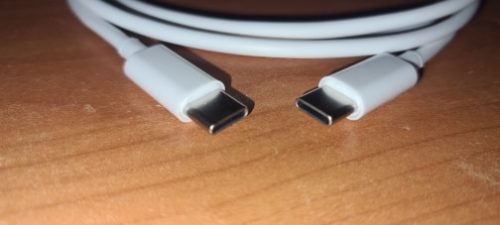 3ft 60W PD 3A USB C to C Cable photo review